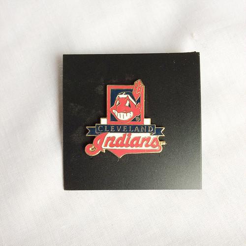 MLB クリーブランド インディアンス CLEVELAND INDIANS バッチ 1385