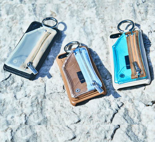 PVC zipphone case (iPhone case) / ajew