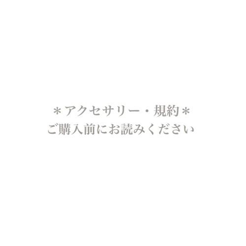 【アクセサリー・規約】