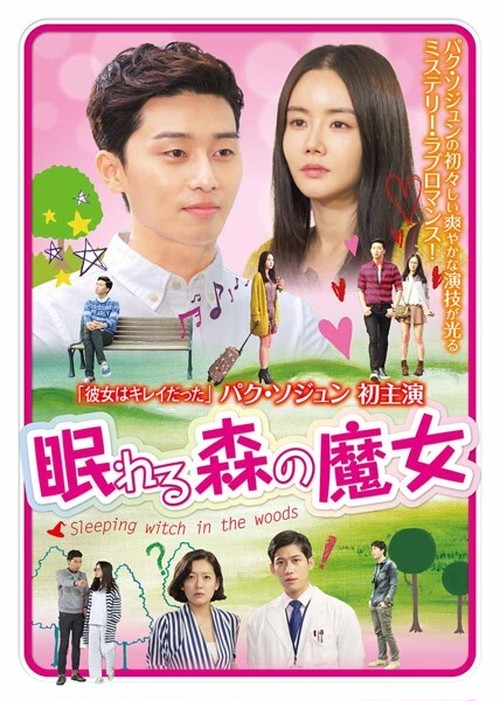 韓国ドラマ【眠れる森の魔女】DVD版 全6話
