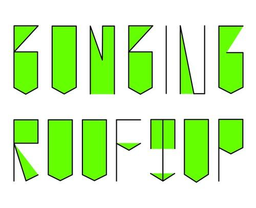 bombing logo (B) グリーン ( Tシャツ )