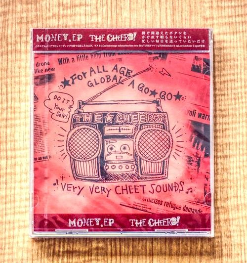 The cheers !「MONEY.EP」