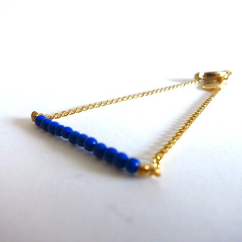 Tiny Beaded Bracelet Lapis