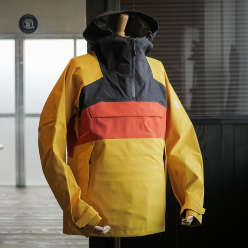 UNFUDGE SNOW WEAR 2018 / SMOKE ANORAK / YELLOW