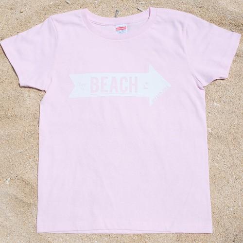MIYAKOJIMA BEACH ➡︎ Tシャツ  Light pink
