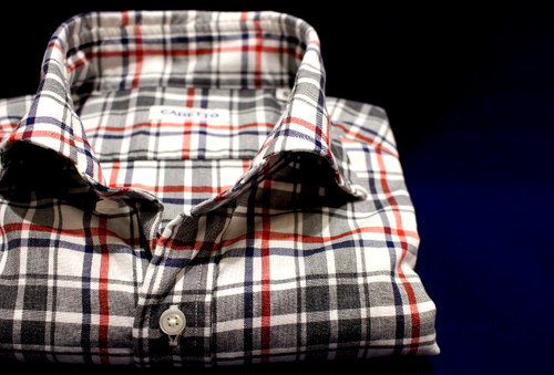 CADETTO ORIGINALS SHIRTS Check on Double Windowpane