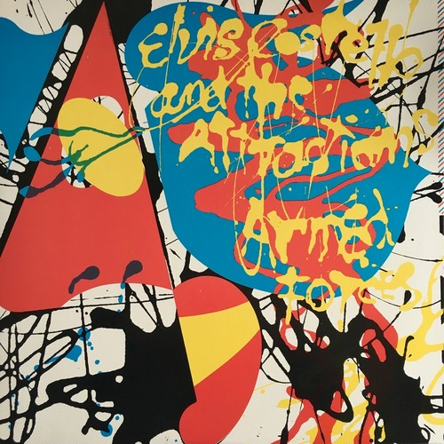 【LP・米盤】Elvis Costello & The Attractions / Armed Forces