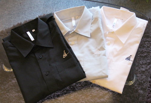 A.I. 半袖ドレスシャツ