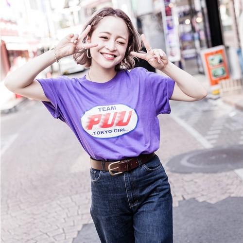 TEAM PUU -T purple
