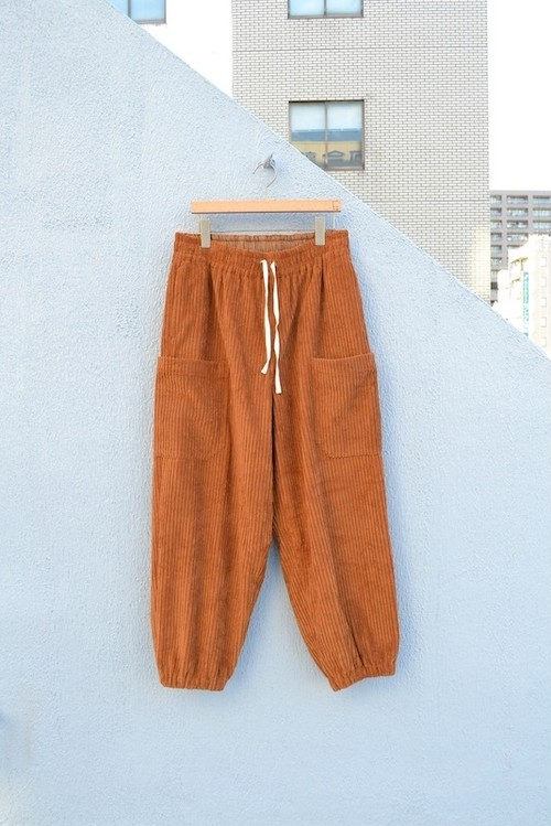 roundabout / Corduroy 6pockets Easy Pants