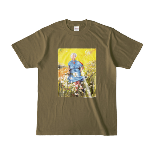 LUCY IN THE SKY WITH FLOWERS カラーTシャツ