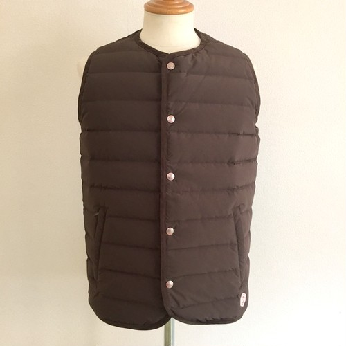Stitchless Down Vest MD.Brouwn