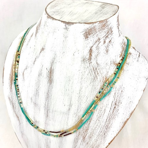 [MATSUNO GLASS BEADS]NECKLCE-N collection-CA21A