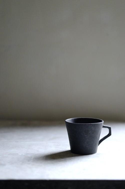コーヒーカップ  ブラック