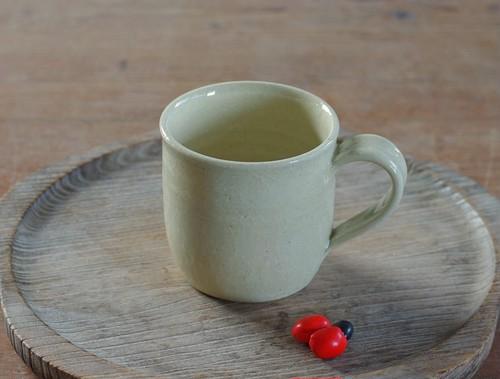 白橡釉マグカップ