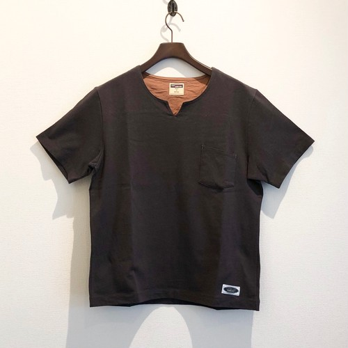 SKIPPER TEE (CHARCOAL) / LOST CONTROL