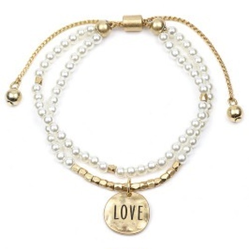 Message LOVE Stackable Bracelet (CB1525)