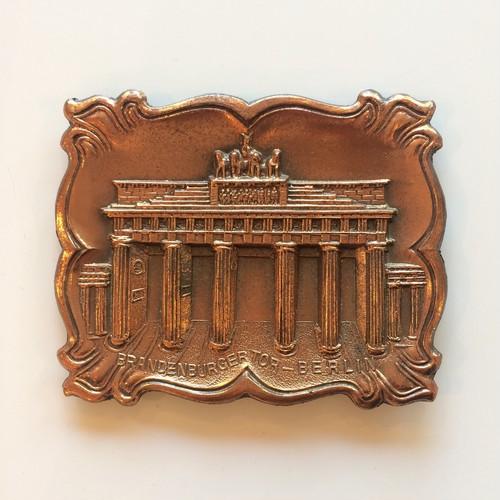 ドイツ ブラス壁掛け / ブランデンブルグ門