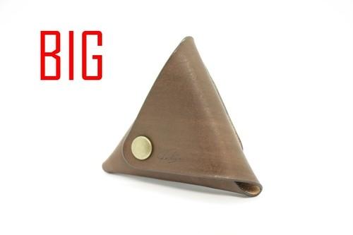 美しい三角コインケース(ローズウッド) 大サイズ