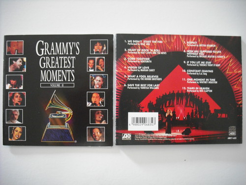 【CD】V.A. / GRAMMY'S GREATEST MOMENTS VOL.2