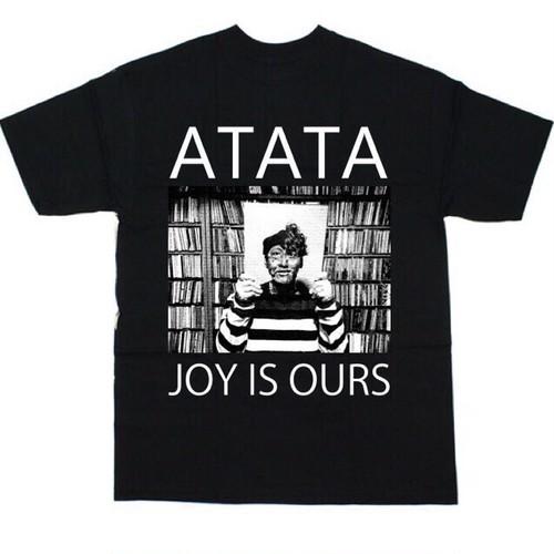 【半額SALE】ATATA Tシャツ『JOY IS OURS』