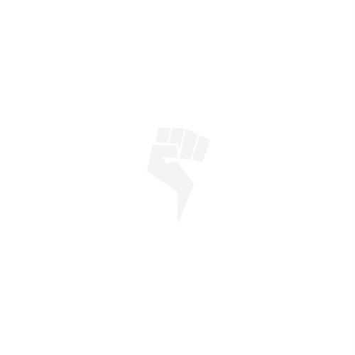 ノーレップ ロゴ 白 ステッカー 小