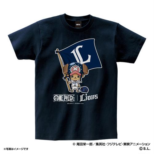 ワンピース×ライオンズ Tシャツ (大人用)