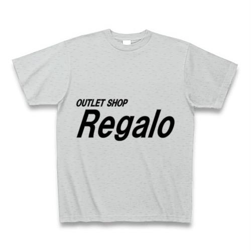 OUTLET SHOP『Regalo』オリジナルTシャツ(グレー)