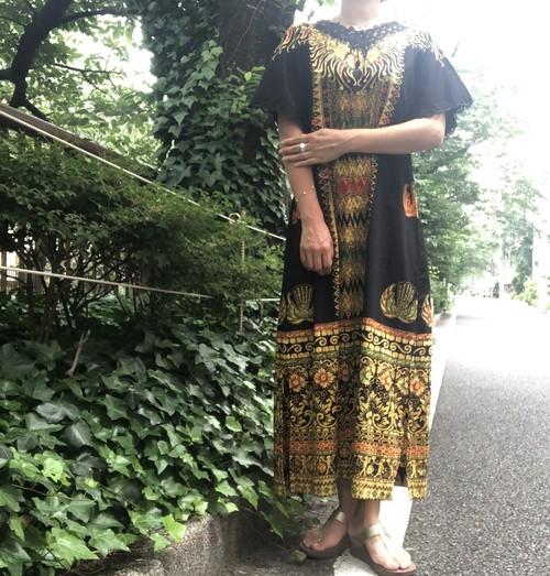 African dress 【Vintage  product】