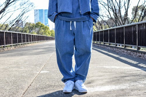 yotsuba - Denim Wide Pants / Wash ¥23000+tax