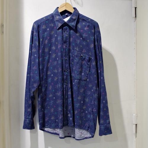 Print Flannel Shirt / プリント ネル シャツ