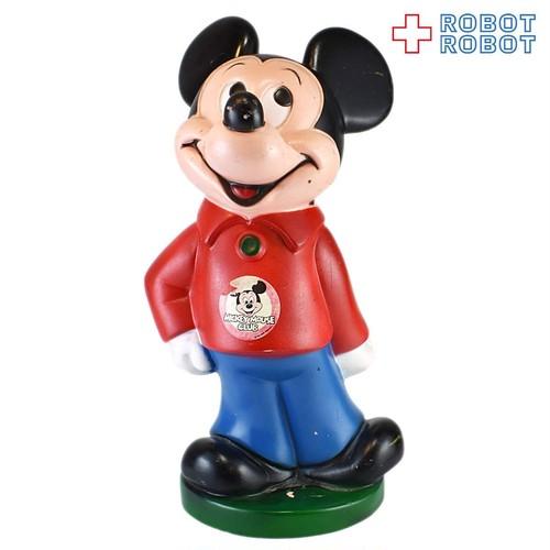 プレイパル ミッキーマウス ソフビ貯金箱 20210430入荷