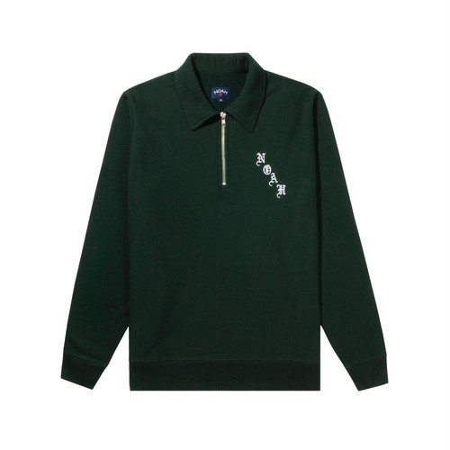 Quarter Zip Sweatshirt(Green)