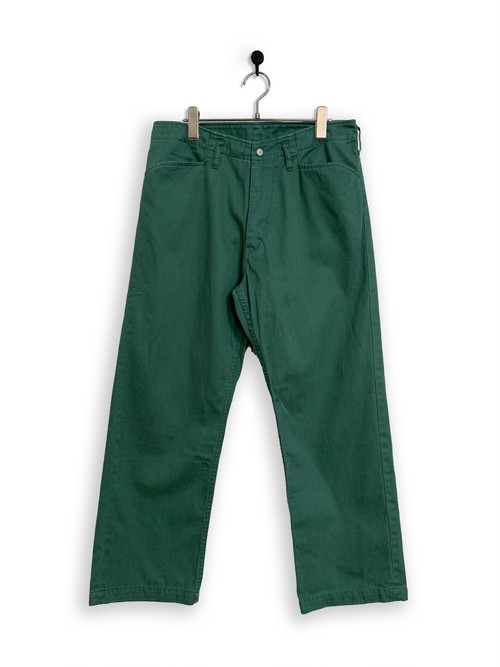 Cotton Twill Frisco Pants/ green