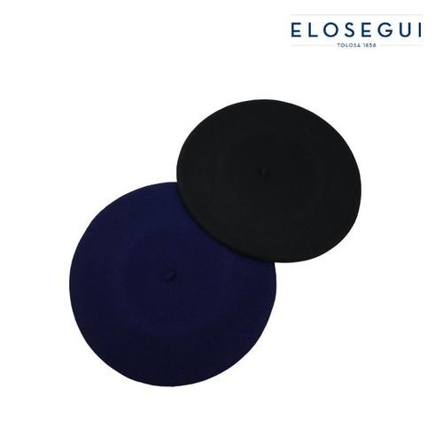 【ELOSEGUI エロセギ】 12インチ バスク ベレー メリノウール (12inch Beret)