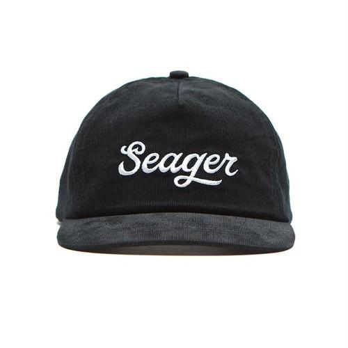 SEAGER #Big Black Corduroy Snapback