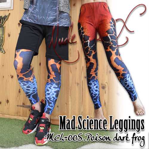 MDL-005  Mad Science Leggings<アマゾン毒ガエル/Poison dart frog>