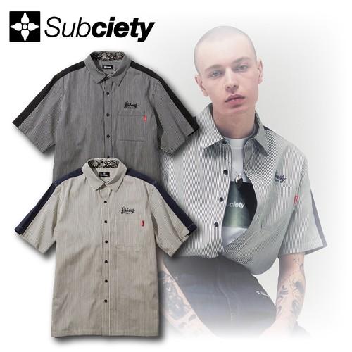 Subciety(サブサエティ) | STRIPE WORK SHIRT