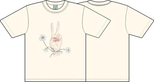 ピースガーベラTシャツ