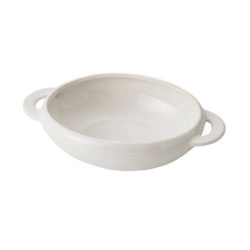グラタン皿/white