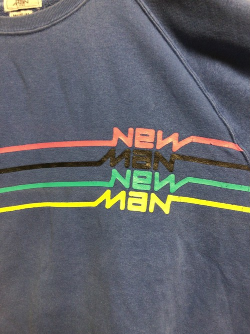 80's new man sweat