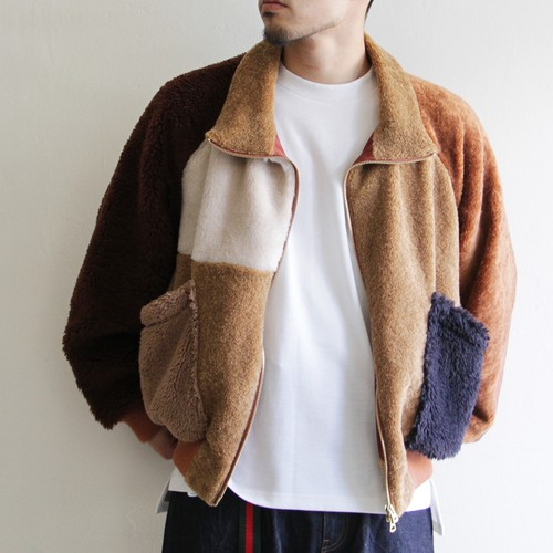 H.UNIT【 unisex 】fleece crazy