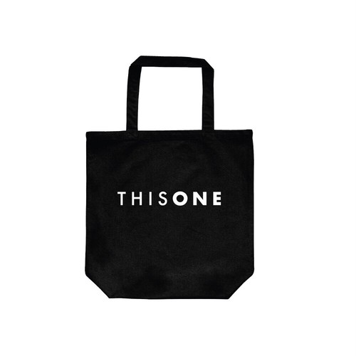 THISONE RECORD BAG (BLACK)