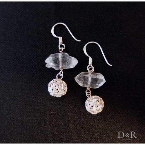 Silver&Quartz Pierce