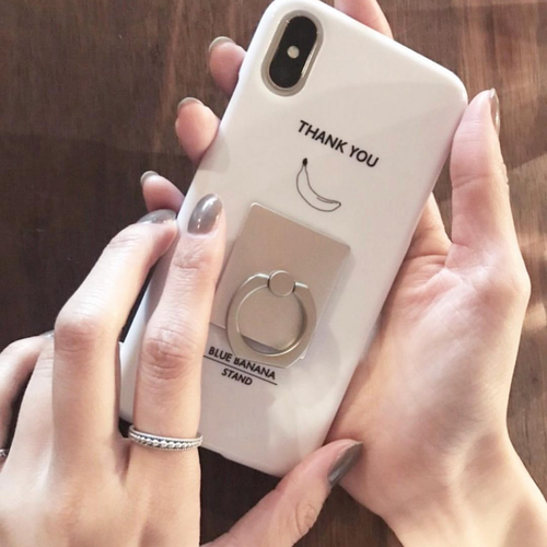 iPhone case リング付き