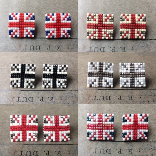 union jack ユニオンジャック:pierce,earring
