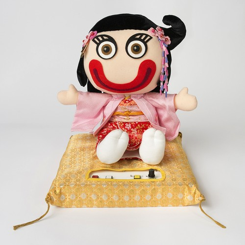 おしゃべり陰陽師人形