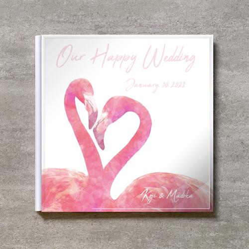 White Flamingo_250SQ_20ページ/40カット_クラシックアルバム(アクリルカバー)