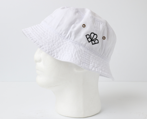 BUCKET HEART WHITE/BLACK