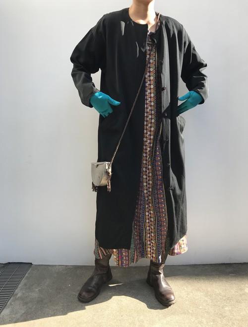 Vintage black coat (ヴィンテージ  ブラック コート)